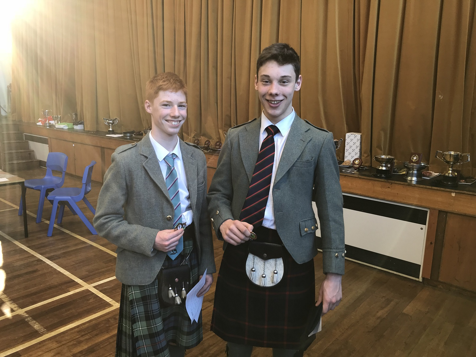 Jasper D And Ramsay P Vale Of Atholl Pipers