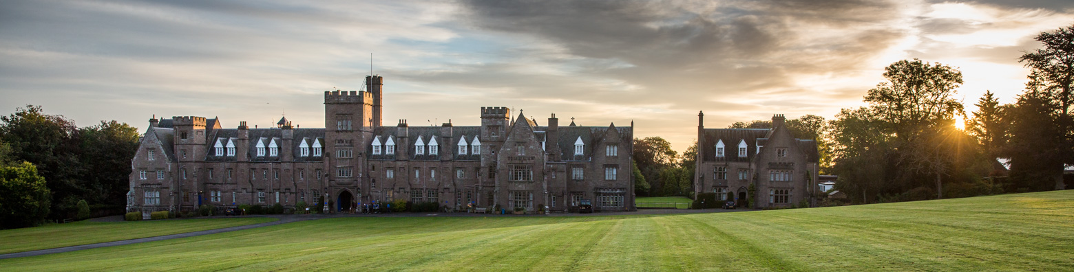 Front view of Glenalmond
