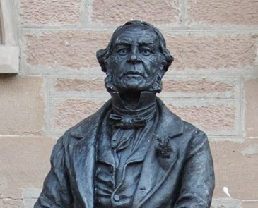 AC- STATUE OF FOUNDER GLADSTONE