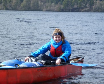 Duke of Edinburgh award canoeing