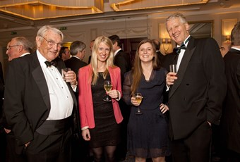 (L-R) Peter Waddell, Claudia Nicholson, Katie Henderson and Tom Walker