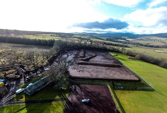 Aerial 3 picture of Neish's pitch 17.2.15