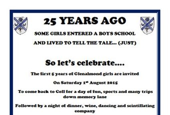 25 year reunion invitation