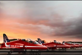 Ruth Shackleton and The Red Arrows on BBC MasterChef
