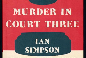 Book cover of Murder in Court Three by Ian Simpson
