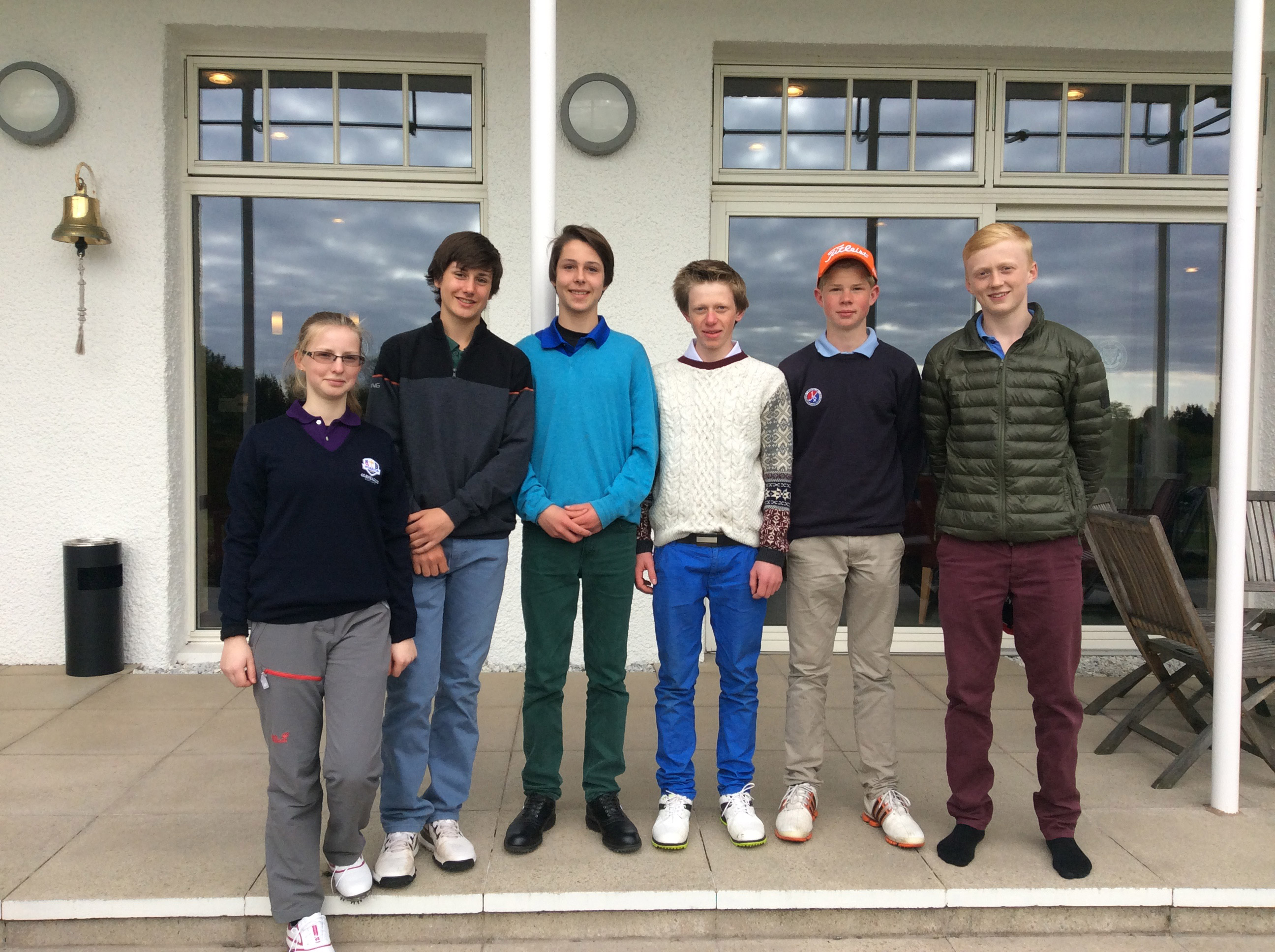 Junior Golf Team v Fettes