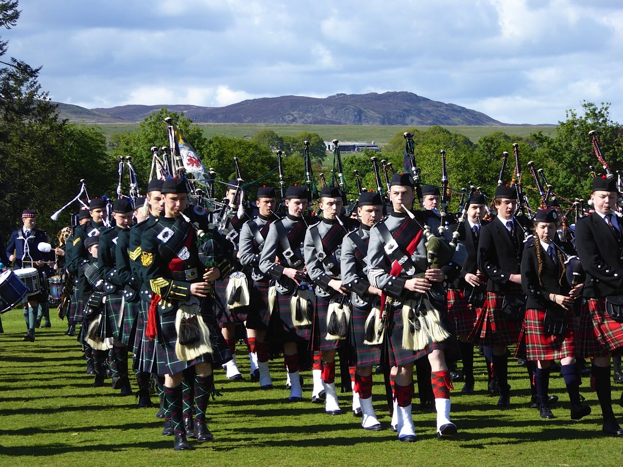 CCF Pipes & Drums Competition