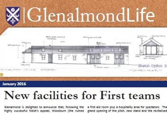 Glenalmond Life front cover January 2016