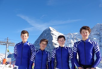 British School boy skiers 2016