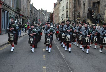 Order of St Johns piping photo 1