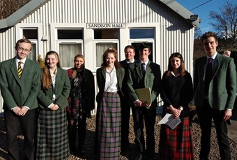 St Fillans Sixth Formers