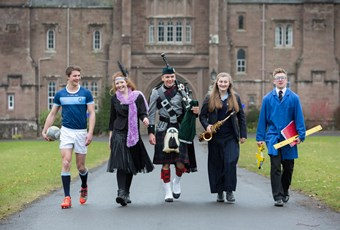 Glenalmond College pupils