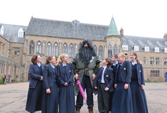 Hagrid returns to Glenalmond
