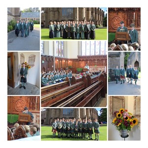 Chapel Montage 2Nd And 3Rd Forms