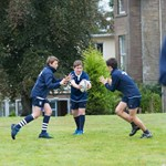 Cairnies boys playing rugby