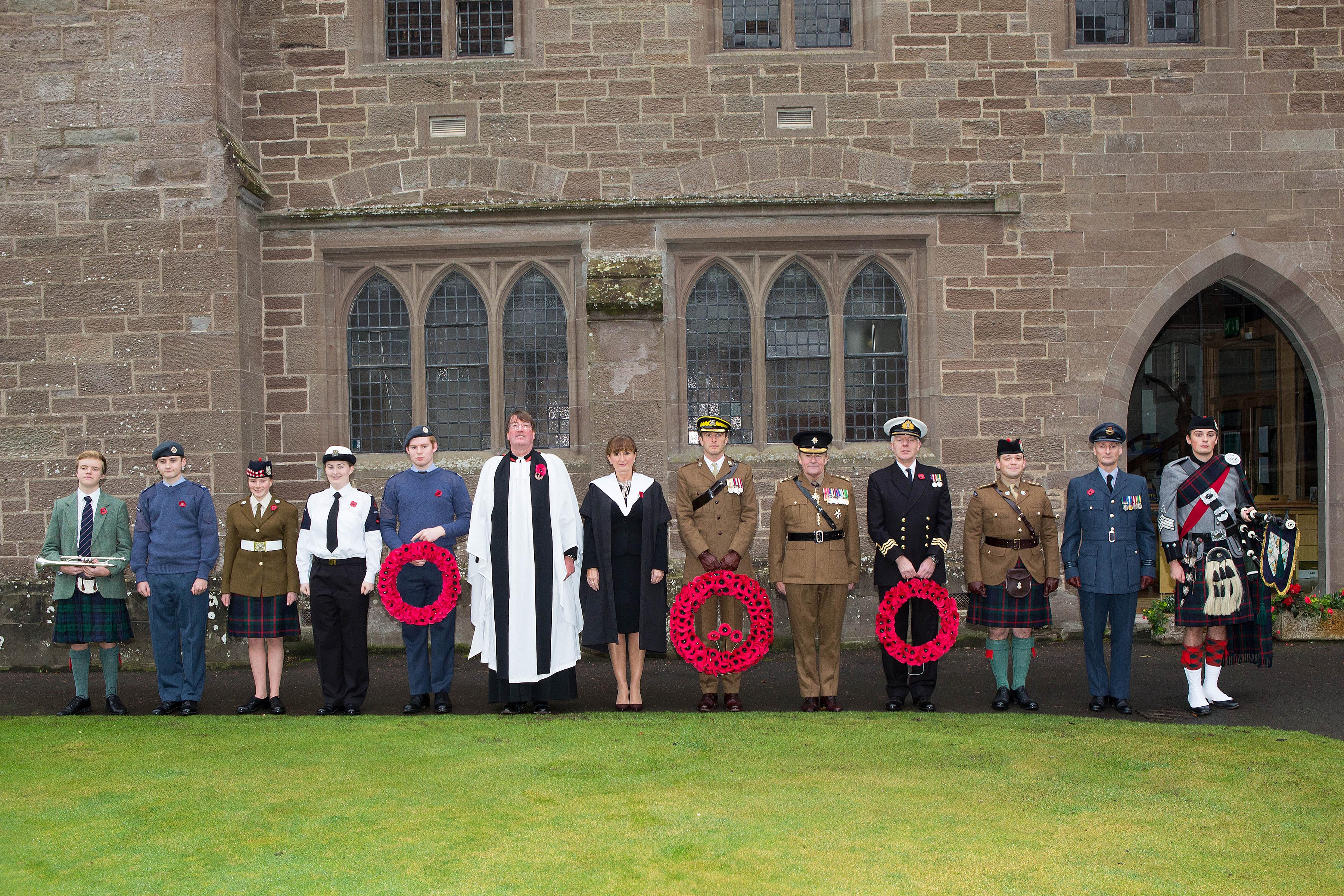 Remembrance Service Glenalmond College 2016