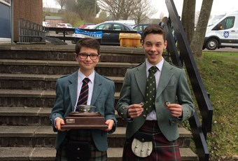 Piping and drums success in Pitlochry