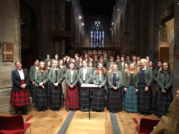 Concert choir in Perth 5.3.17