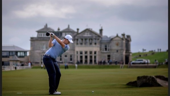 Andrew Gibson at St Andrews