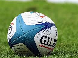 Rugby Ball Stock