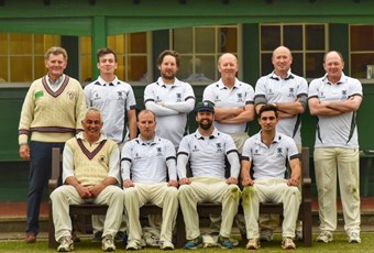 OG cricket match team shot