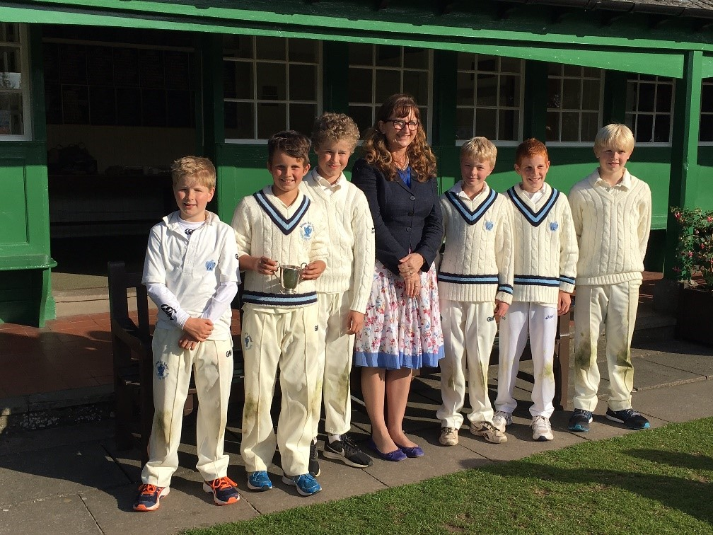 Cricket Sixes Under 11 winners May 2017