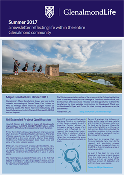 Glenalmond Life Summer 17 Cover