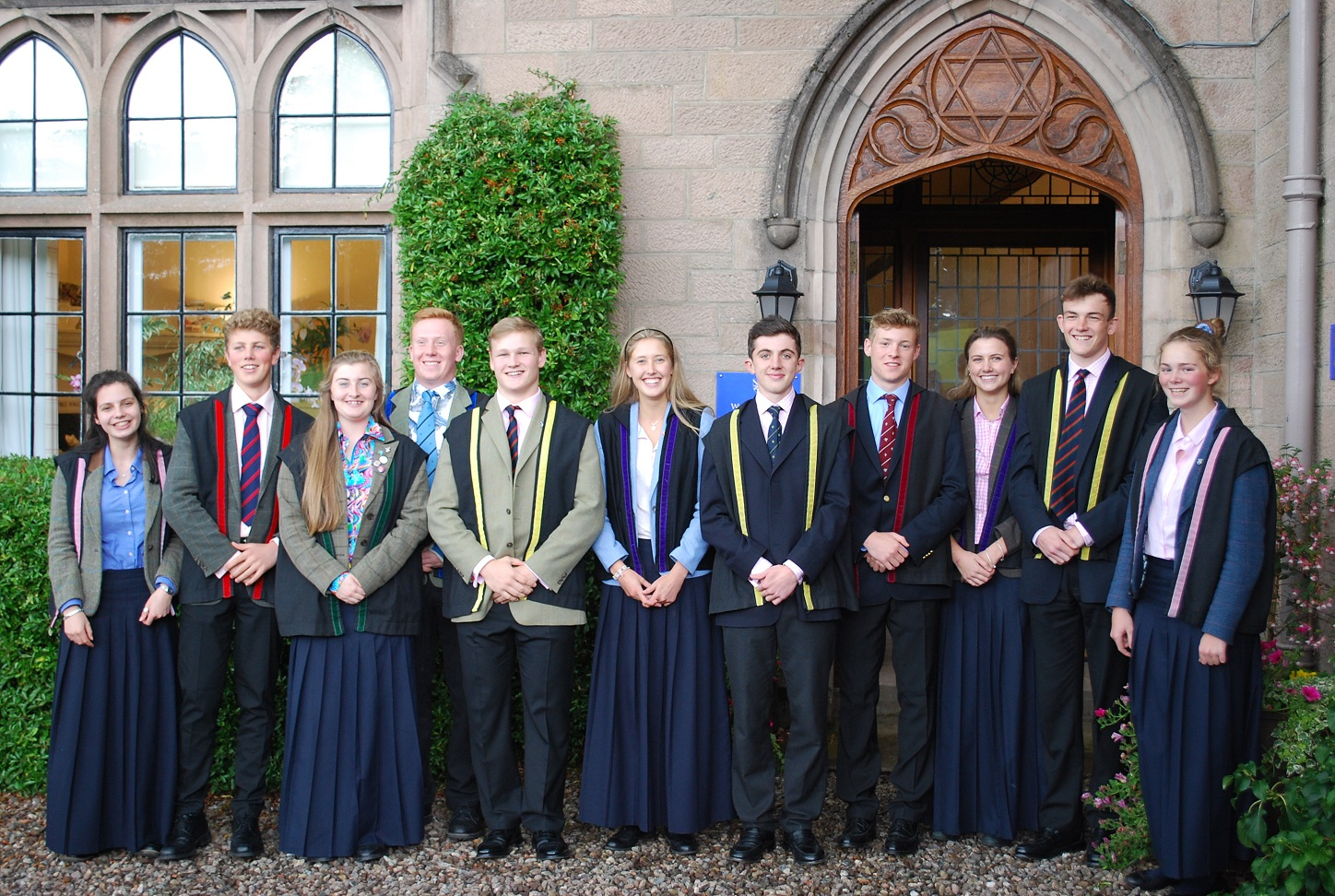 College Prefects 2017-2018